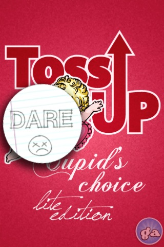 Screenshot Toss-Up Cupid's Choice Lite