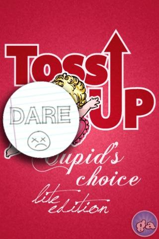 Screenshot Toss-Up Cupid's Choice Lite