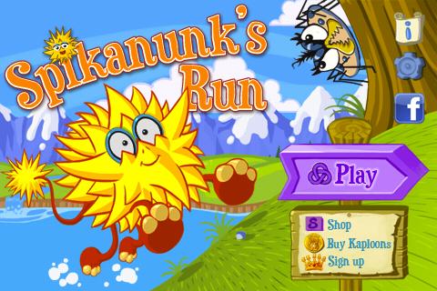 Screenshot Spikanunk's Run